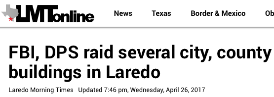 FBI raids in Laredo