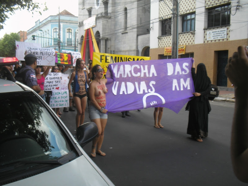 Marcha das Vadias Manaus 2012