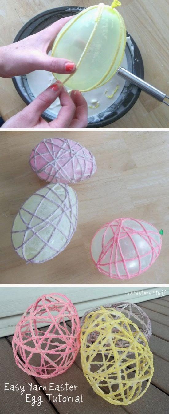 http://www.craftbyphoto.com/yarn-easter-eggs/