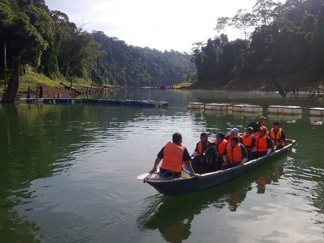 بالصور ماليزيا: بحيرة كينير KenyiR