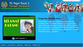 Website SDN Kacok 2 Palengaan