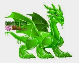 Dragão Fluído Verde