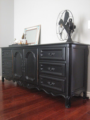 European paint finishes black dresser a bed for Bedroom furniture 85225