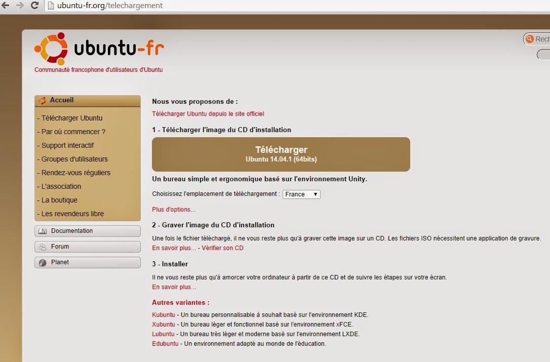 Elle utilise une version bootable de Ubuntu le logiciel libre
