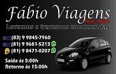 FÁBIO VIAGENS - Transportando clientes do Curimataú e do Seridó paraibano ao Recife