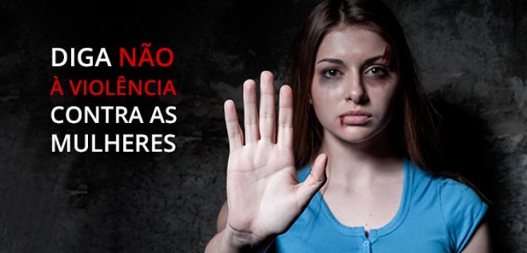 Diga Não á violência.