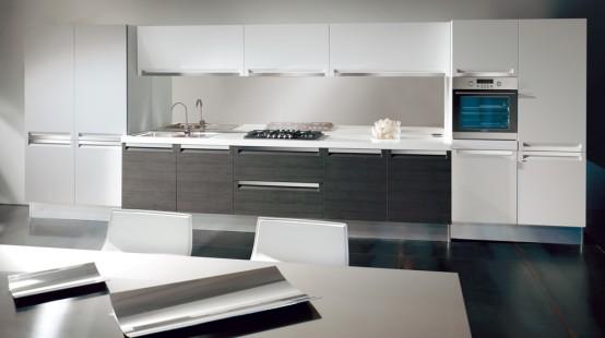 Ideias de cozinhas em preto e branco design innova for Best kitchen floors 2016