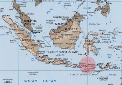 Labuan Bajo Flores Komodo Island Map