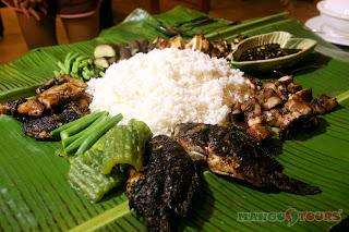Puerto Galera Buri Resort & Spa Mango Tours seafood platter