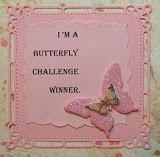 I won the Butterfly Challenge