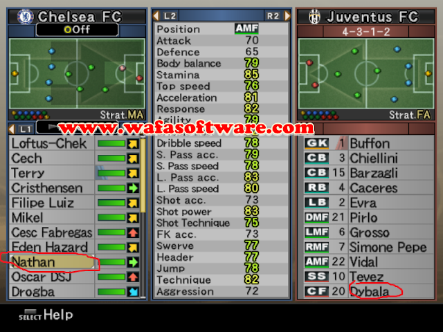 Download Update Pemain Pes 6 terbaru Juni 2015 Full Transfer