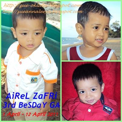 AiReL ZaFRi 3rd BeSDaY GA