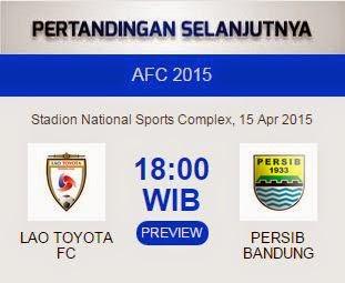 Lao FC vs Persib