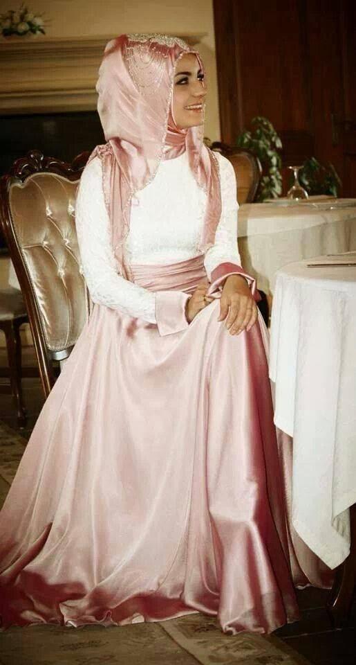 hijab-robe-soirée