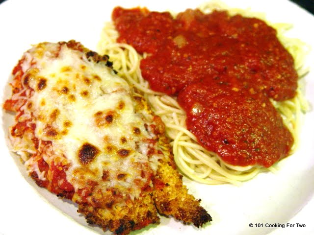 Chicken Parmesan from 101 Cooking For Two