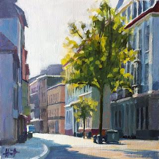 Morning on Prinzenstrasse by Liza Hirst