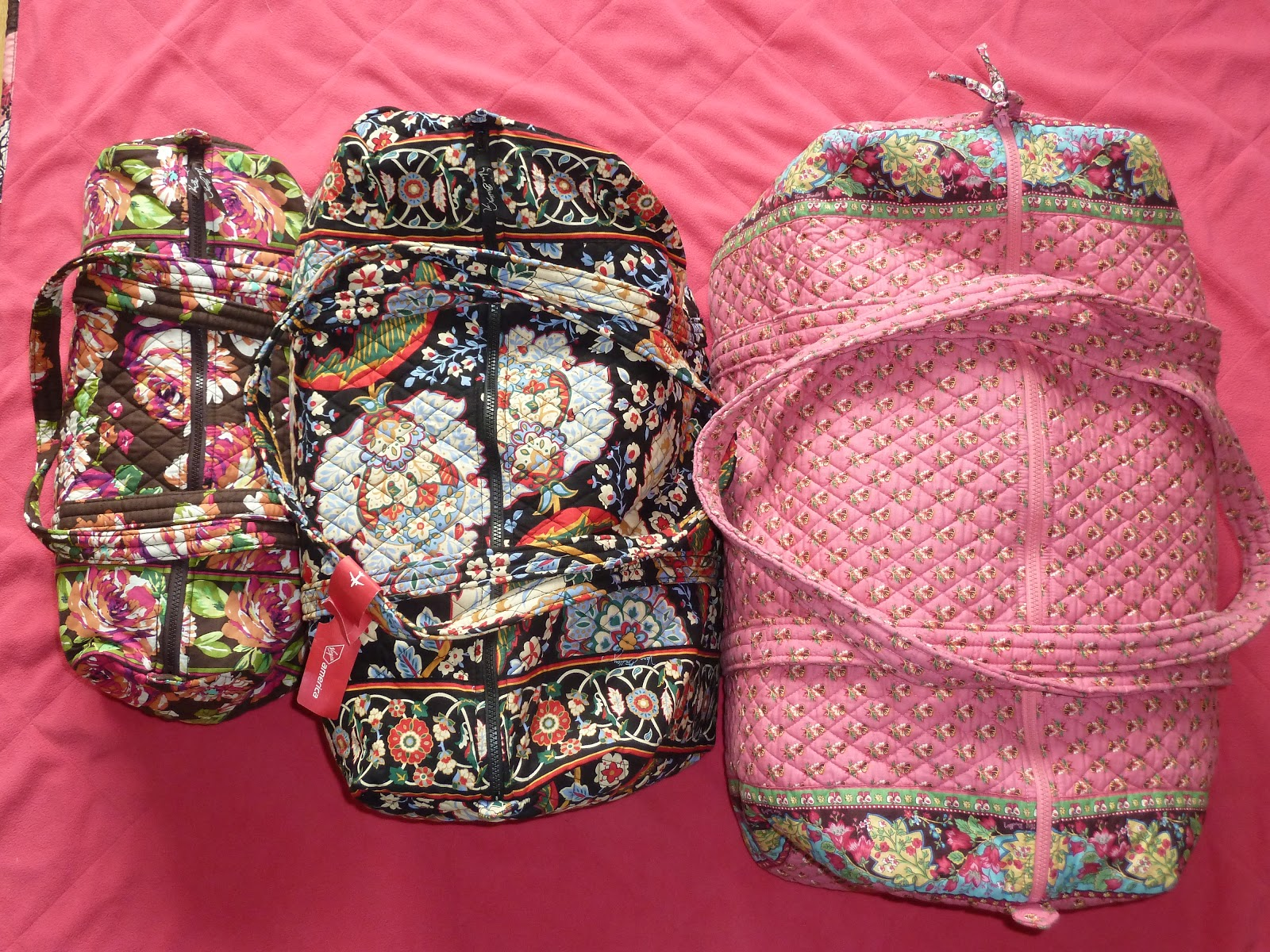 f955edebcd A blog about all things Vera Bradley  Vera Bradley Little Hipster   Small  Duffel