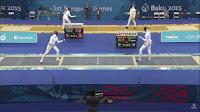 Juegos Europeos Bakú 2015 - Esgrima