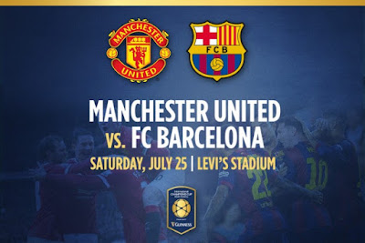 Siaran Langsung Manchester United vs Barcelona International Champions Cup 2015