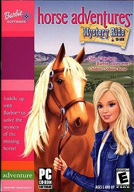 Barbie Horse Adventures Mystery Ride