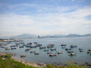 Boats in Nha Trang - Vietnam