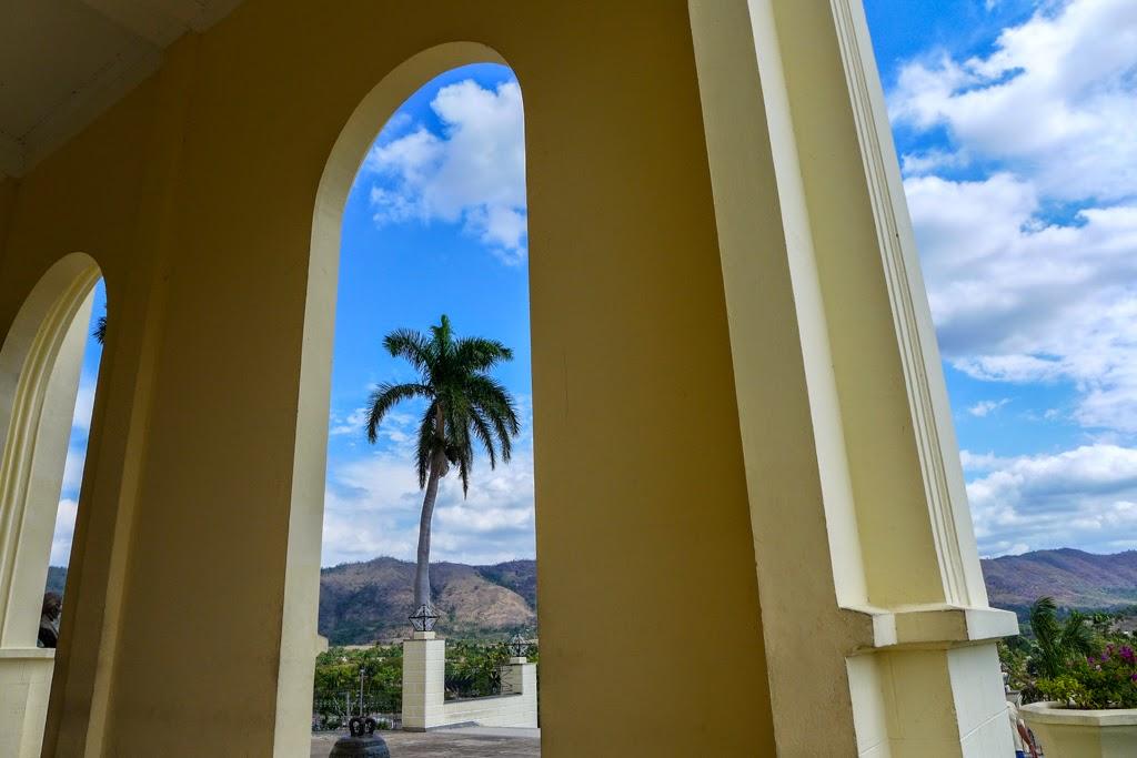 El Cobre view from the entrance