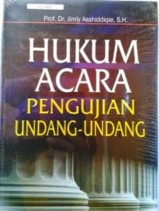 [buku] Hukum Acara Pengujian Undang-Undang
