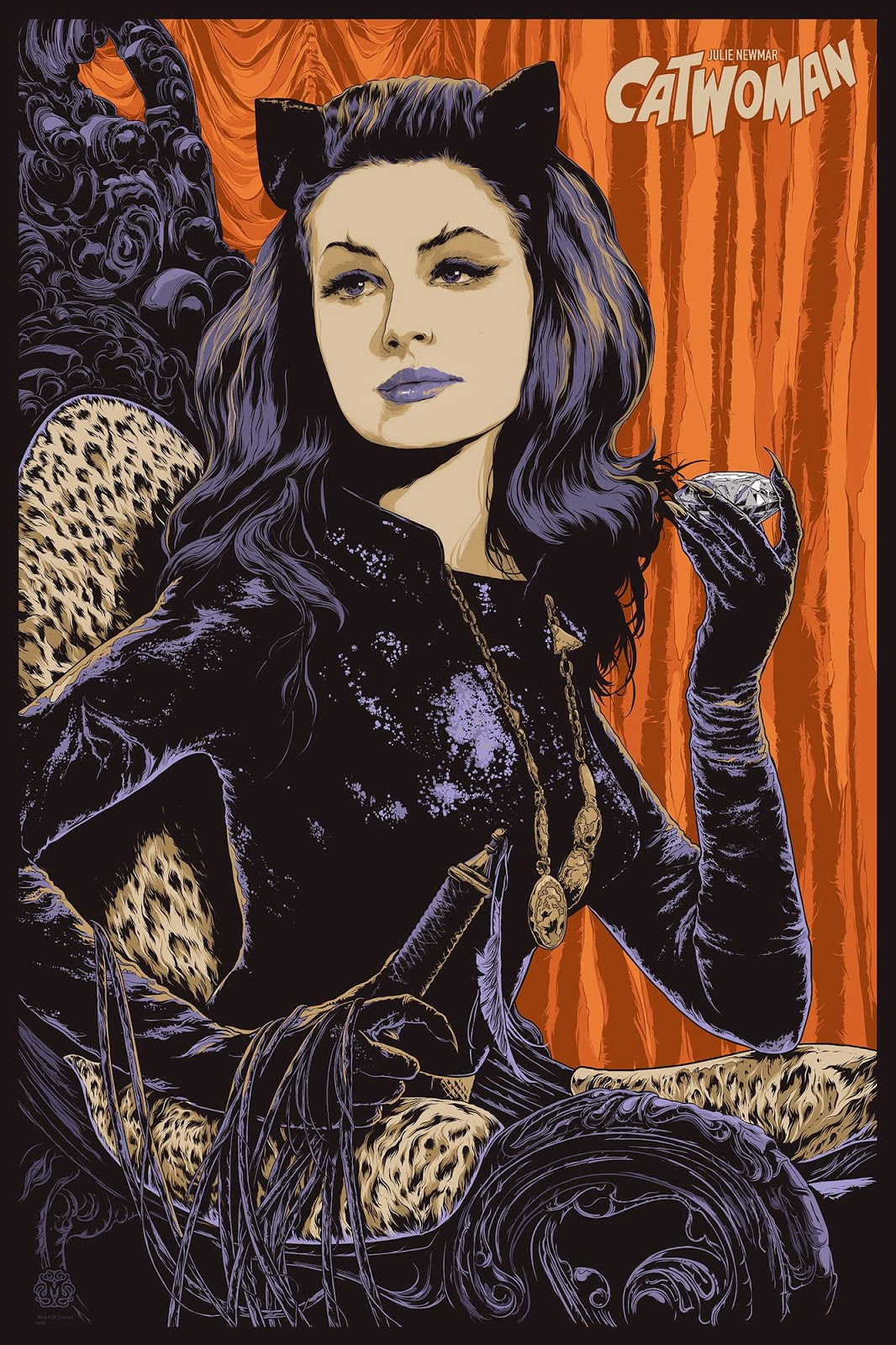 Julie Newmar Catwoman Poster The Julie Newmar Catwoman
