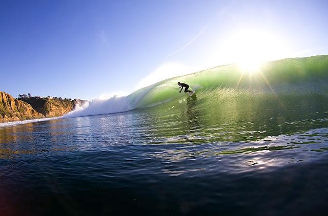 Surf em Blacks Beach em San Diego