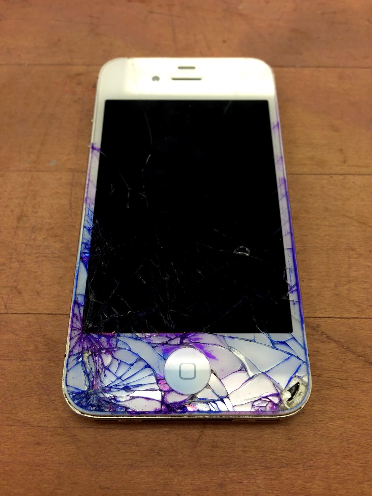 All Things Natalie Christa Diy Colored Cracked Iphone