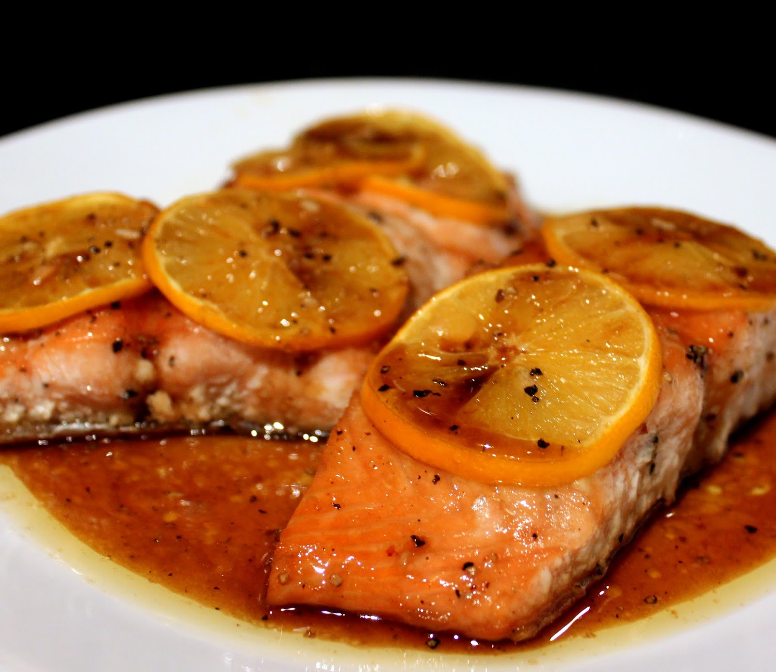 Stuffed Salmon: Everything In The Kitchen Sink: Brown Sugar Baked Salmon