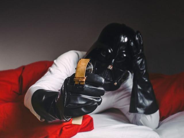 Darth Vader закъснява