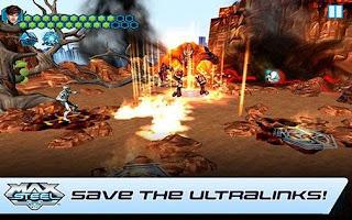 Screenshots of the Max Steel Rise Of  Elementor for Android tablet, phone.