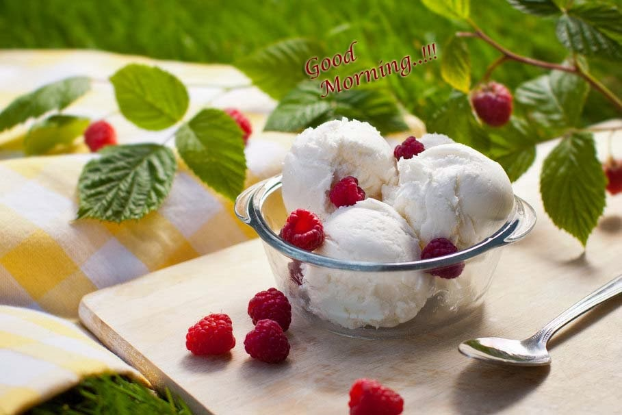 good-morning-ice-cream-raspberries-wallpaper
