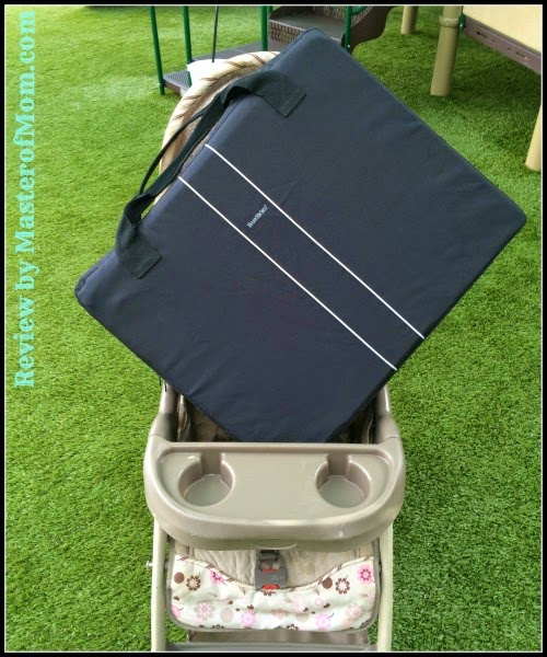 Baby Bjorn Travel Crib Light comparison size