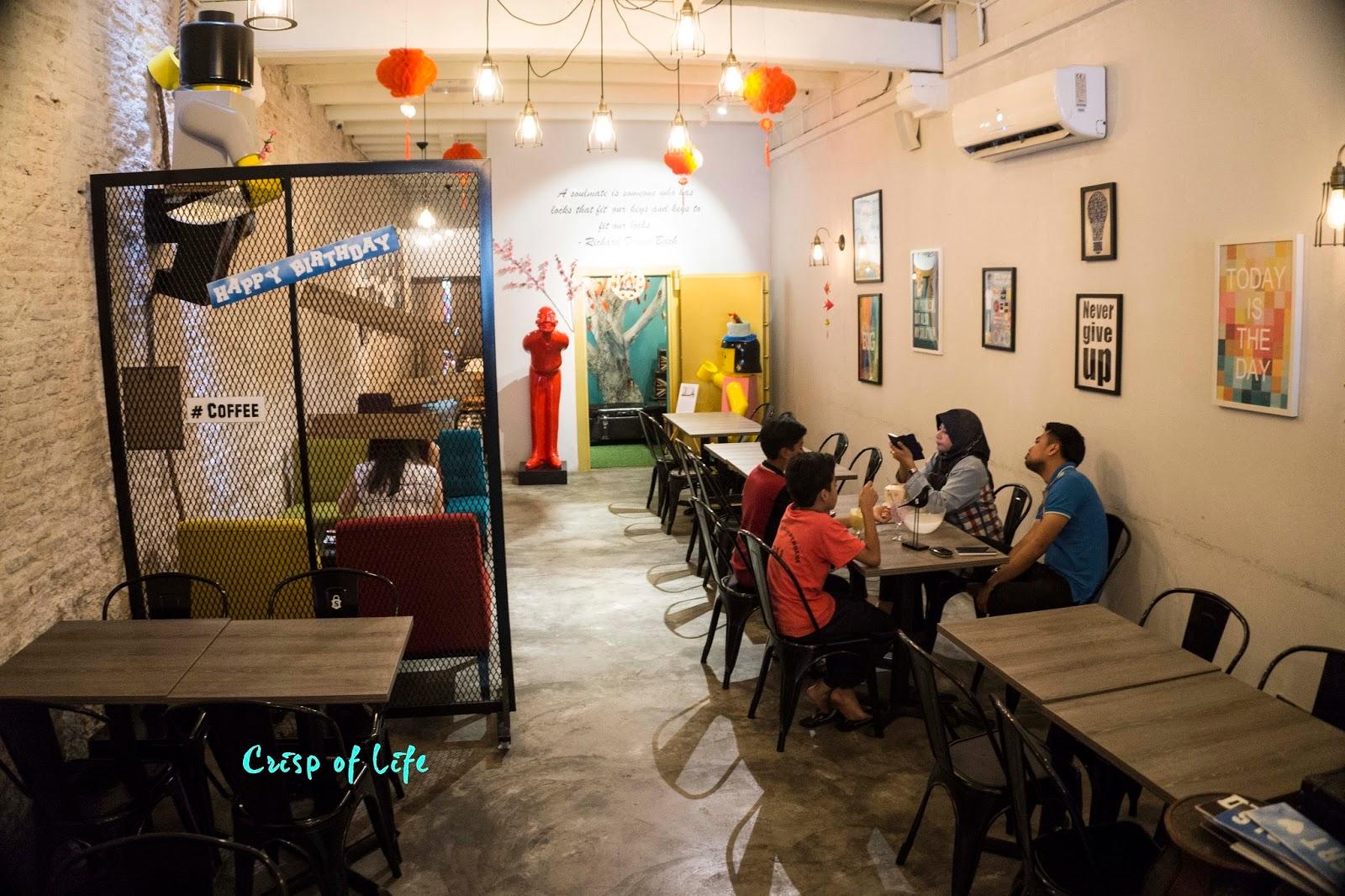 Safe Room Cafe Penang Menu