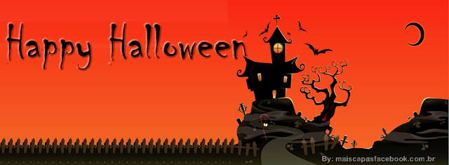 Happy Halloween capas para facebook
