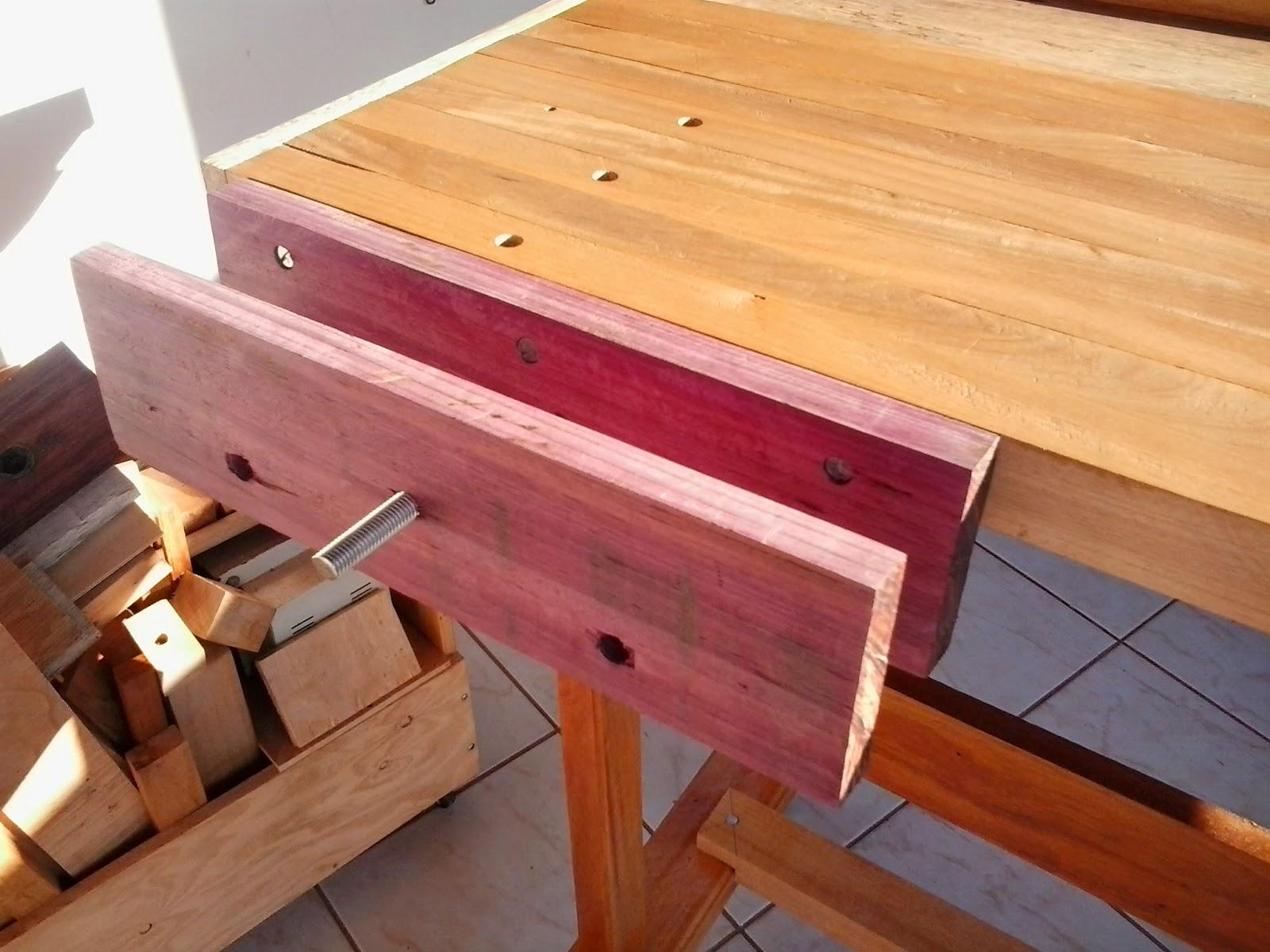 Marcenaria de casa Woodwork home: Bancada de Marceneiro Parte 4  #B26819 1600x1200