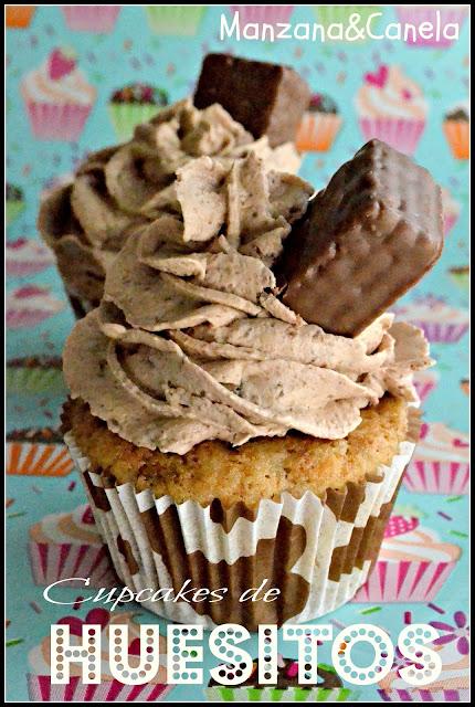 Vuelta a la infancia! Cupcakes de huesitos