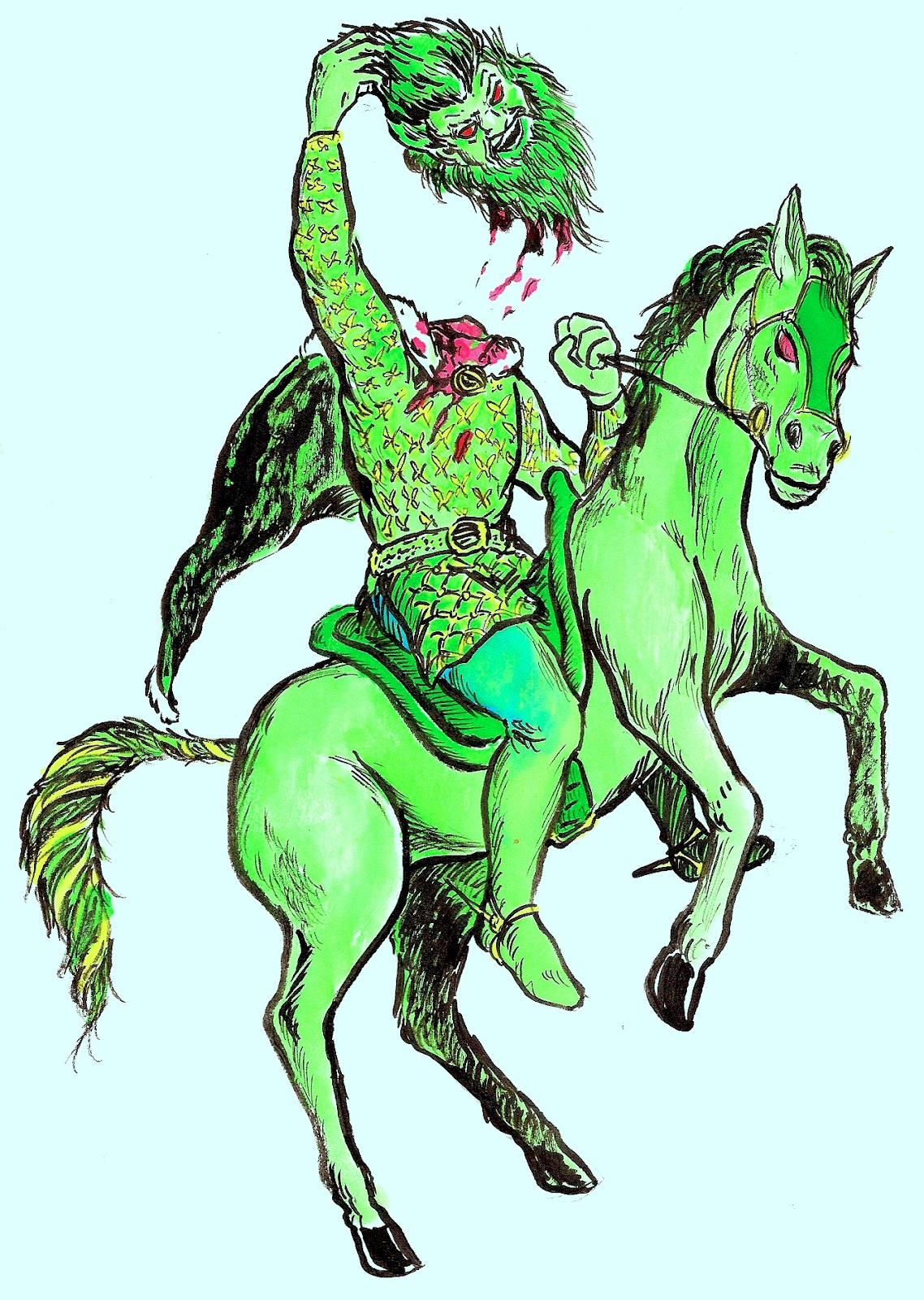 an overview of the beowulf and sir gawain and the green knight heroism characters