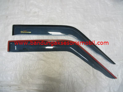 Talang Air Dyna Rino Original Black Depan