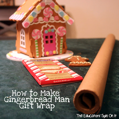 The Educators 39 Spin On It Gingerbread Man Gift Wrap Jan