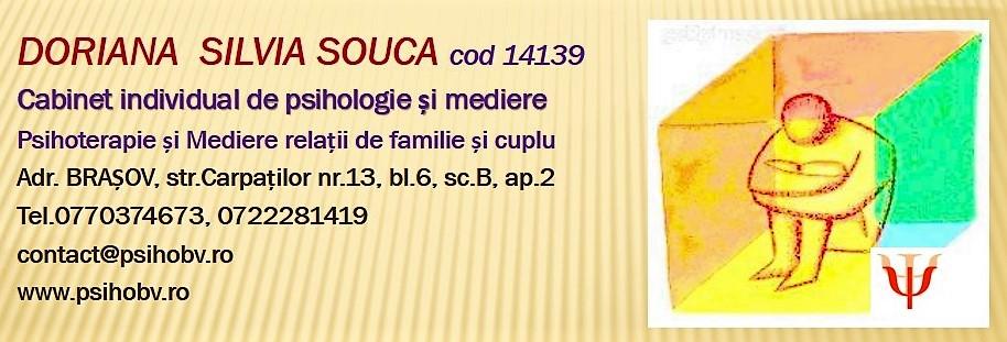 SILVIA  DORIANA  SOUCA - www.psihobv.ro