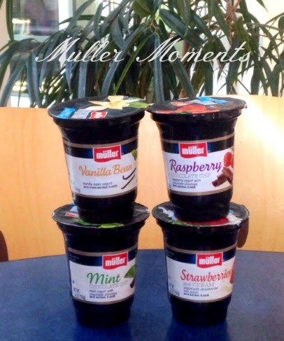 mullermoments with muller ice cream inspired yogurt