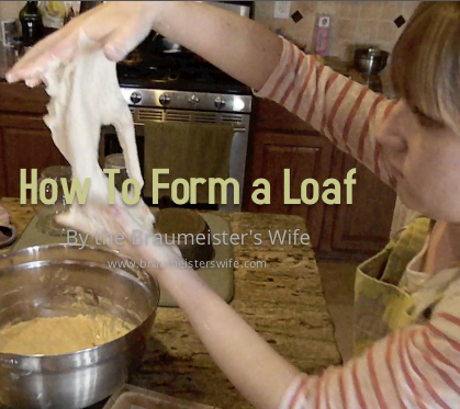 Video on How to Form a Loaf