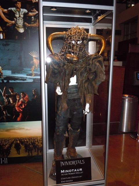 Robert Maillet Minotaur Immortals costume