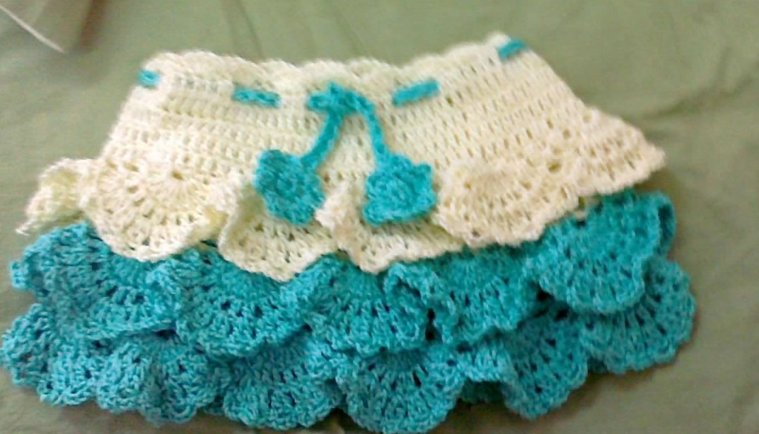 Free Crochet Pattern Child Skirt : The Crochet World: crochet skirt written update