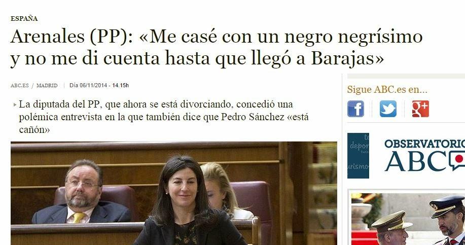 La diputada del PP concedió una entrevista a Interviú