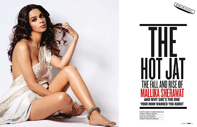 Mallika Sherawat Latest HOt Magazine Scans