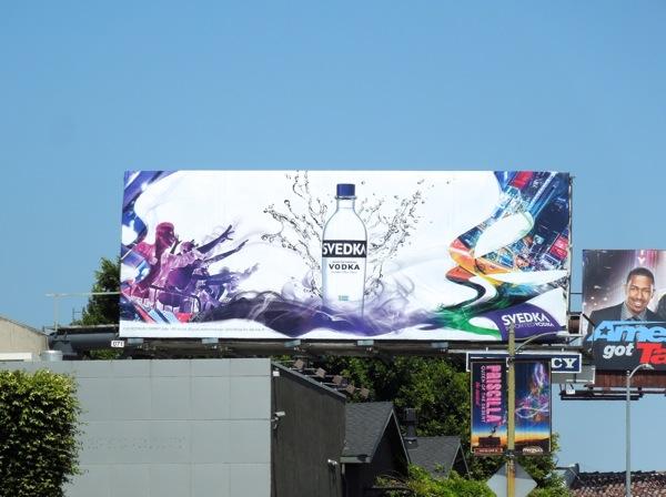Svedka Vodka 2013 billboard
